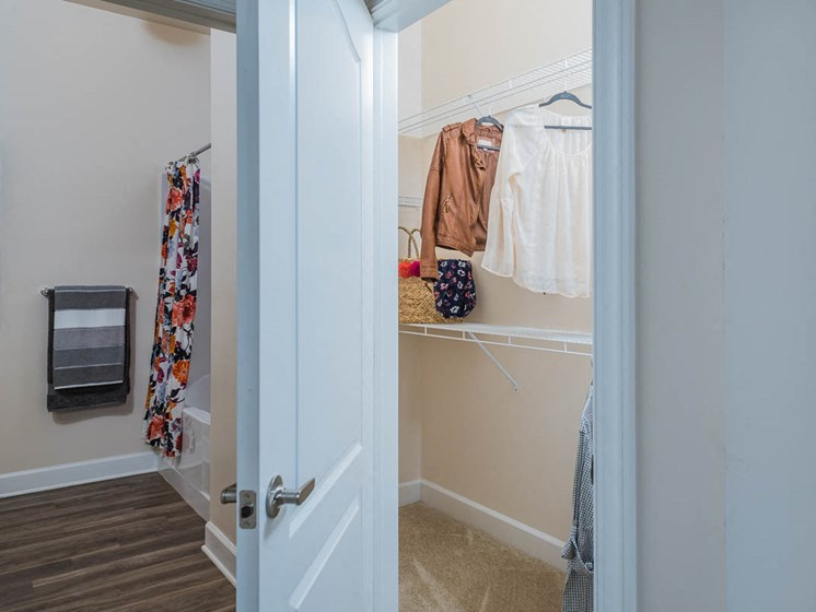 Oversized Closets at Abberly Waterstone Apartment Homes, Stafford, VA, 22554