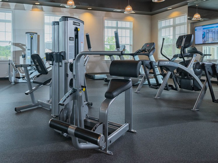 Modern Fitness Center at Abberly Waterstone Apartment Homes, Stafford
