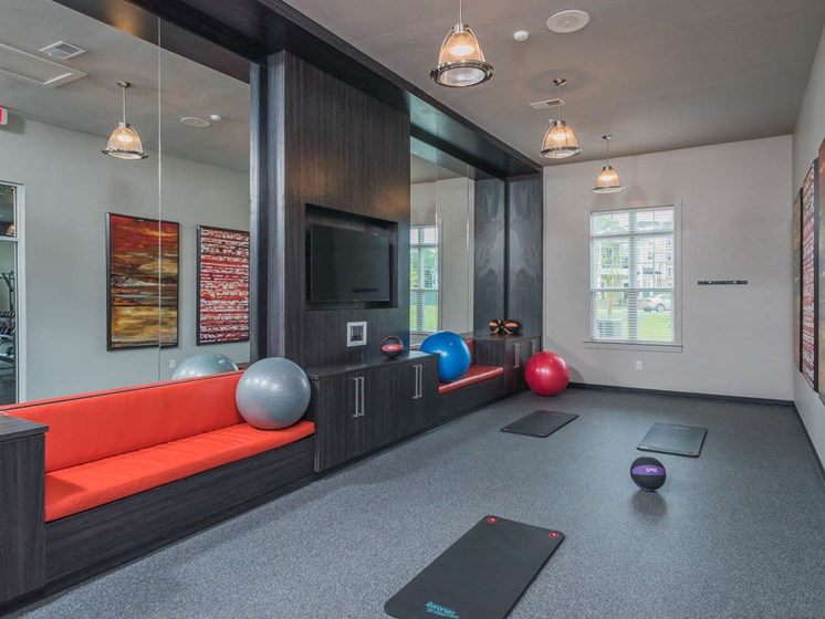 Free Style Exercise Room at Abberly Waterstone Apartment Homes, Virginia