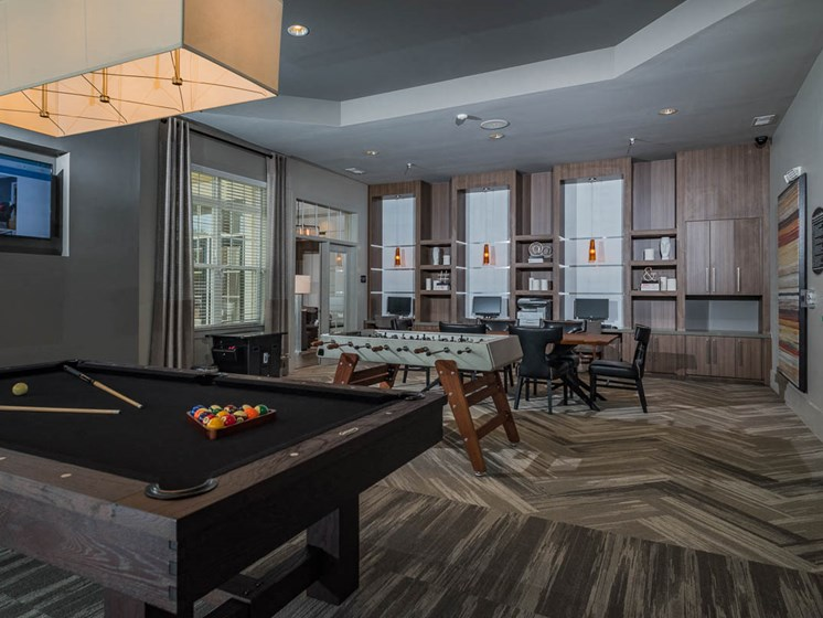 Billiards Table at Abberly Waterstone Apartment Homes, Virginia, 22554