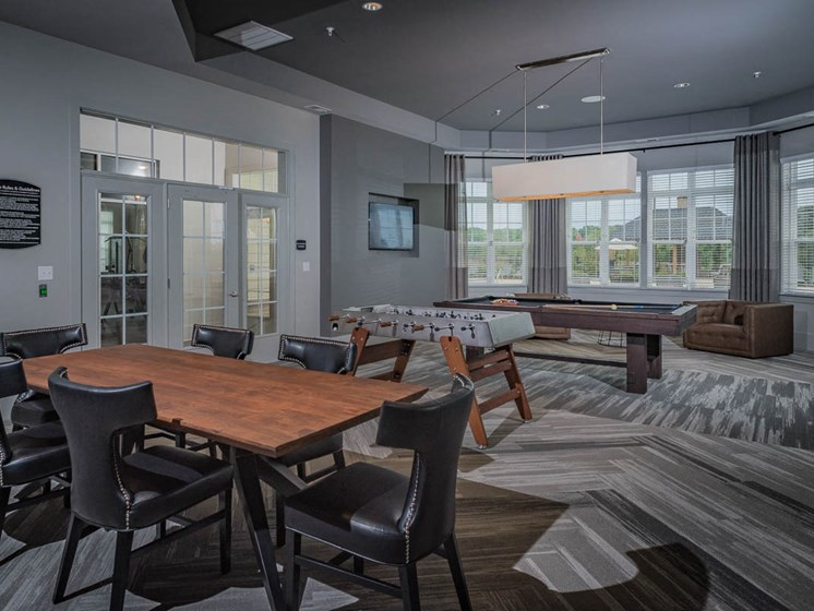 Indoor Games Room at Abberly Waterstone Apartment Homes, Stafford, VA, 22554