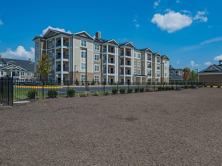 Dog Park With Perimeter Fence at Abberly Waterstone Apartment Homes, Virginia, 22554
