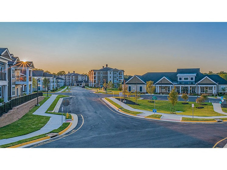 Open And Clean Community at Abberly Waterstone Apartment Homes, Stafford, VA, 22554