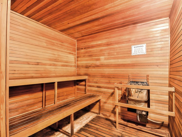 Hot Sauna Amenity