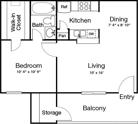 Sanibel Floor Plan 1