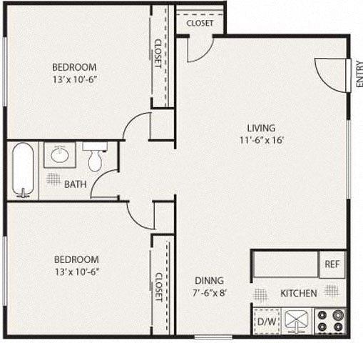The Pasadena Floor Plan 8