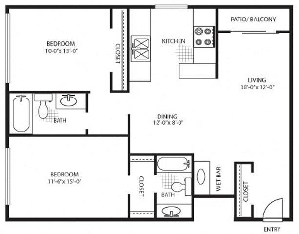 The Violet Premium Floor Plan 5