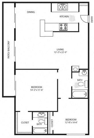 The Amber Premium Floor Plan 3