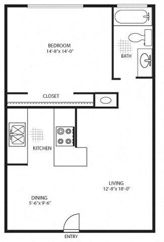 The Indigo Premium Floor Plan 1