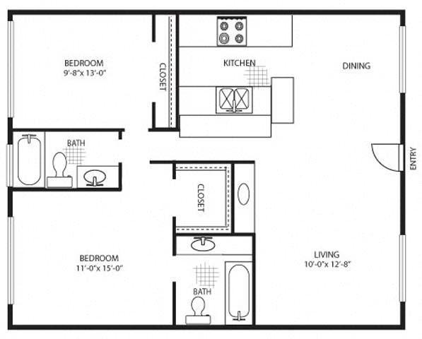 The Crimson Premium Floor Plan 2
