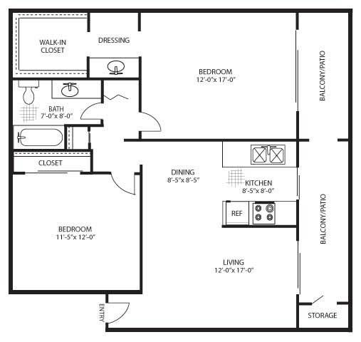 The Oak Floor Plan 3