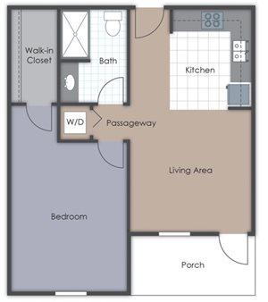 1 Bedroom - Deluxe