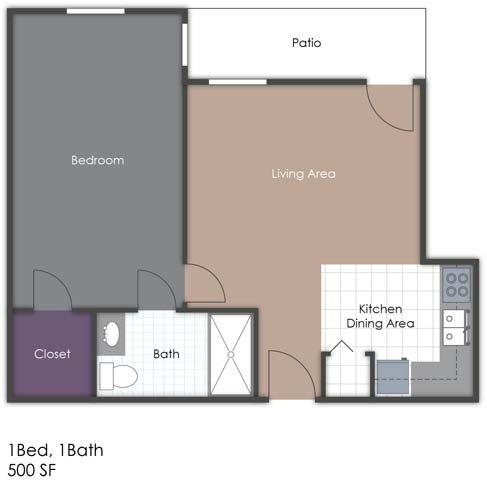 Club Suite Floor Plan 4