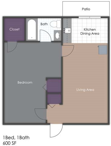 Country Chalet Suite Floor Plan 5