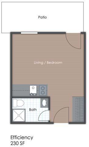 Studio Club Floor Plan 1
