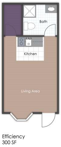 Studio Country Chalet Floor Plan 3