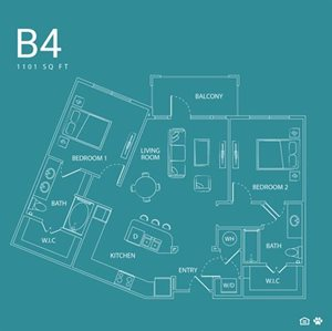 The watson apartments 3090 outlet parkway grand prairie for 1235 s prairie floor plans
