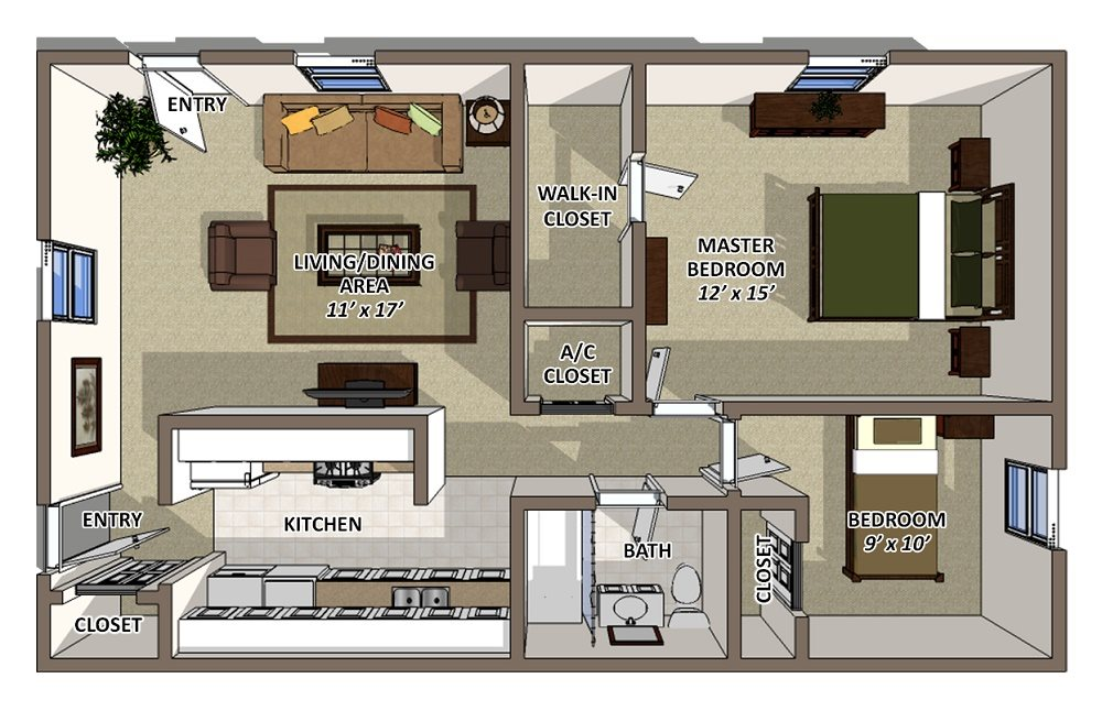 Springs Floor Plan 3
