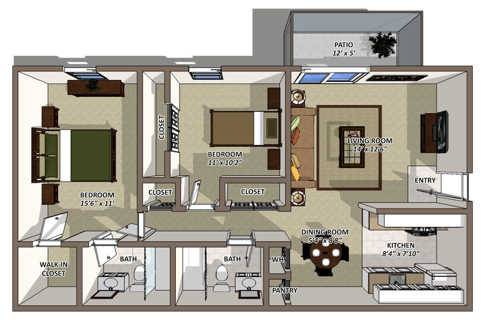 Reagan Floor Plan 5