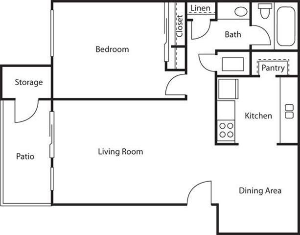 The Aspen Floor Plan 1