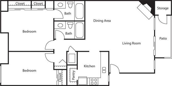 The Cottonwood Floor Plan 2