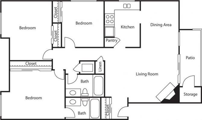 The Redwood Floor Plan 5