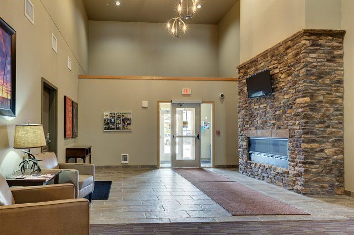 Lobby at Bluffs of Williston Apartments ND