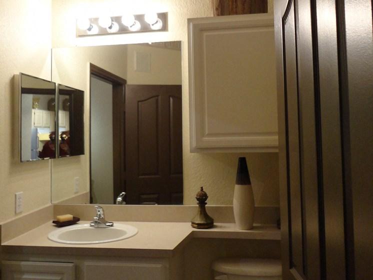 Interior Bathroom Sink Mirror Toilet Allegro Palms Riverview Florida