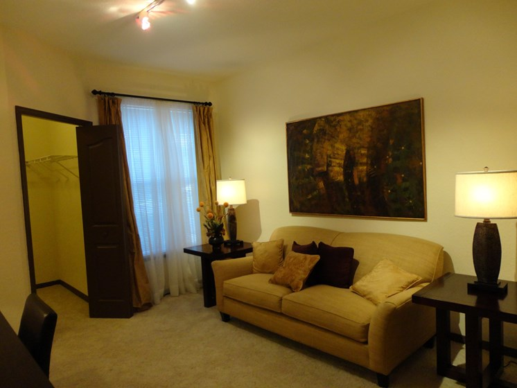 Interior Unit Living Room Couch Allegro palms Riverview Florida
