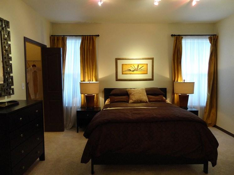 Interior Unit  Bedroom Double Windows Allegro Palms Riverview Florida