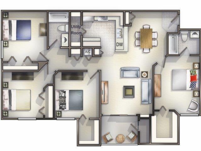 Allemande Floor Plan 7