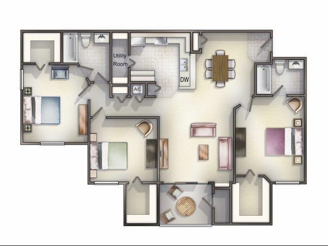 Trio Floor Plan 6