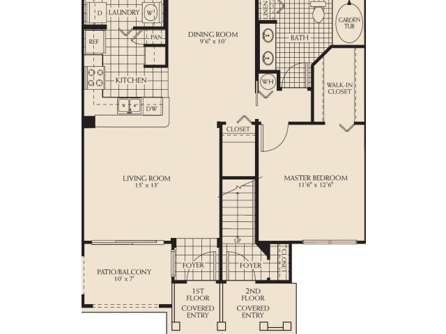 Ashley Renovated Floor Plan 3