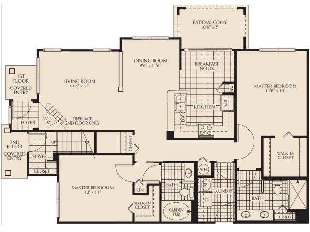 Forsythe with Garage Floor Plan 11