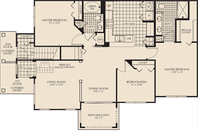 Madison D Floor Plan 13