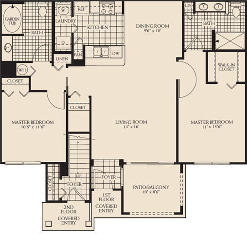 Riverbridge Floor Plan 5