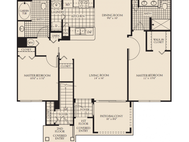 Riverbridge D Floor Plan 6