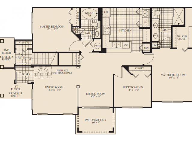 Madison Renovated Floor Plan 14