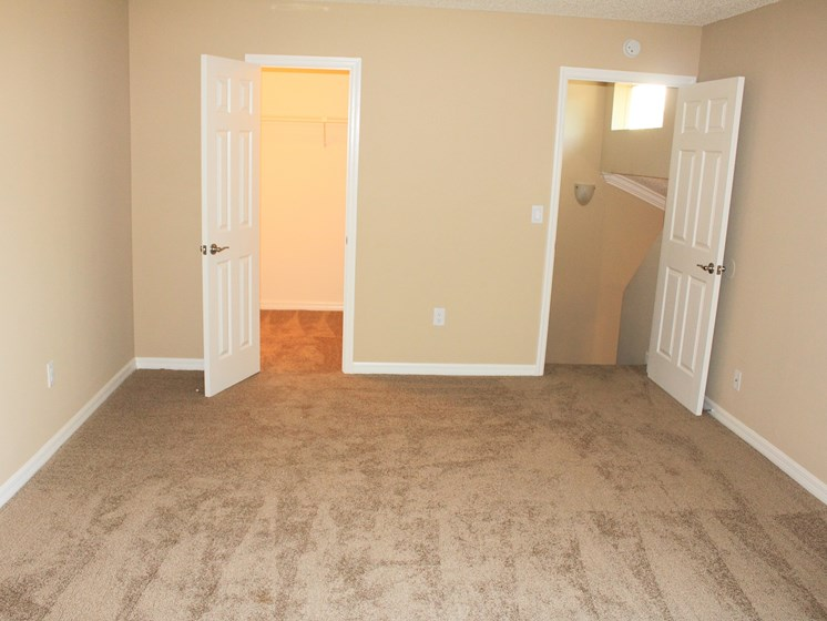 Bedroom with carpet at Aventine at Forest Lake Oldsmar Tampa Florida