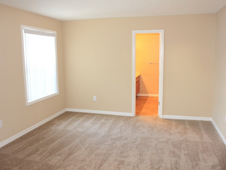 Bedroom with carpet at Forest Lakes Apartment Homes, Oldsmar, FL, 34677