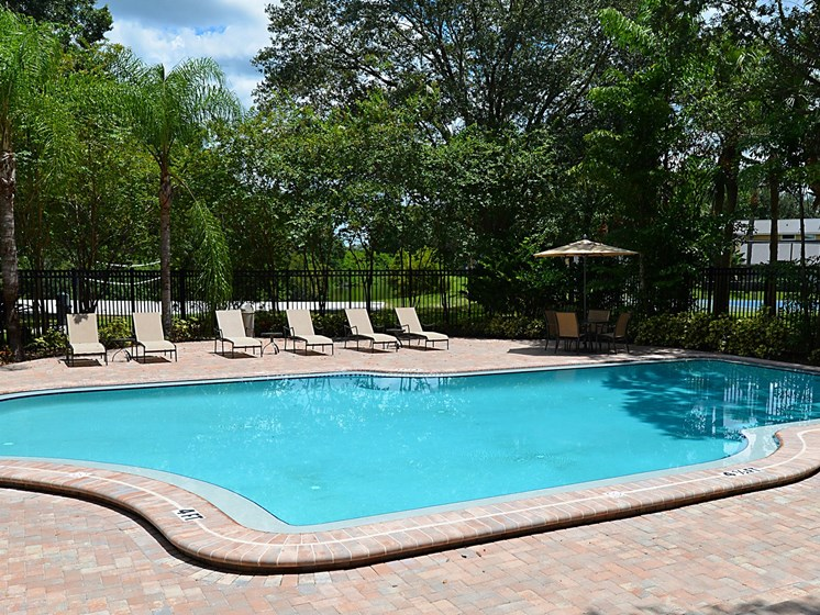Pool View Aventine at Forest Lakes Apartment Homes, Oldsmar, FL, 34677
