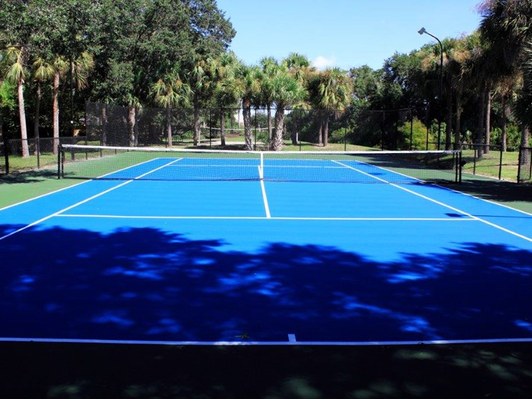 Tennis Court Aventine at Forest Lake Oldsmar Tampa Florida