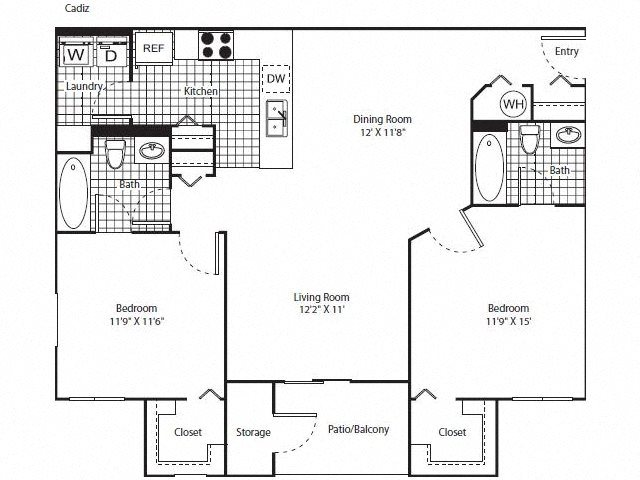 Cadiz Renovated Floor Plan 5