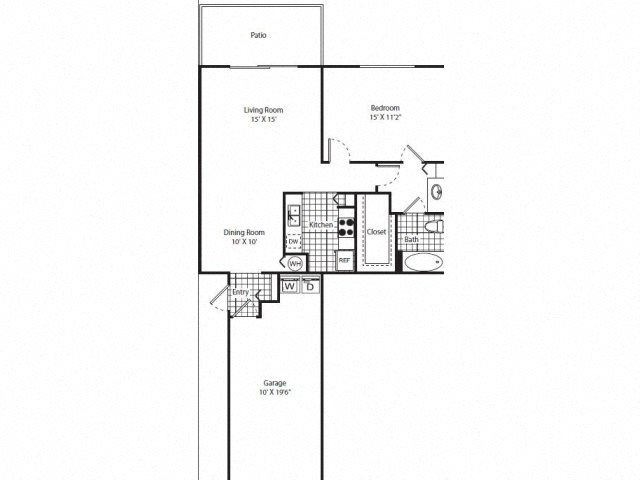 Las Palmas Renovated Floor Plan 2