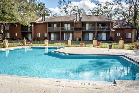 Pool view at Bluff House Apartment Homes, Orange Park, FL