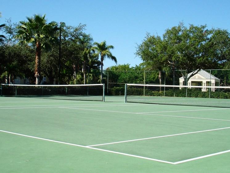 Tennis Court Bridgewater St. Petersburg Florida