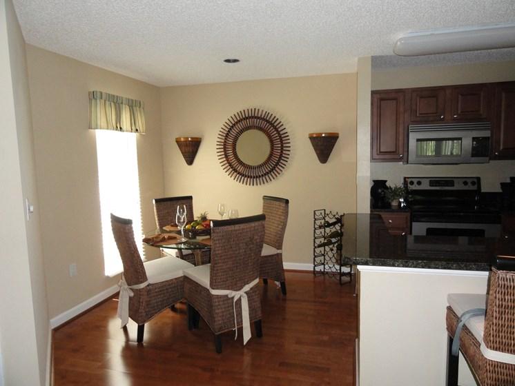 Dining Room and Kitchen Bar Bridgewater St. Petersburg Florida