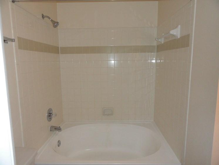 Bathroom with tub/shower combo Bridgewater St. Petersburg Florida