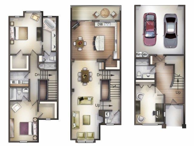 C4 Crotone Floor Plan 4