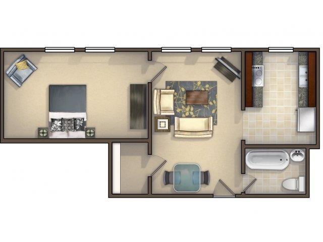 1-1-M Floor Plan 5